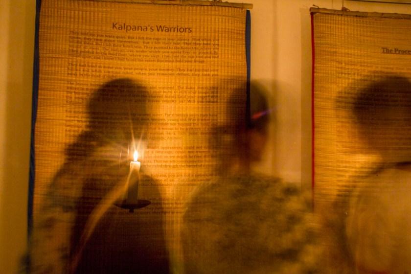 Kalpana's Warriors_Exehibition Opening