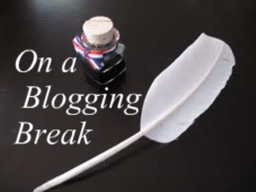 A break from blogging in November