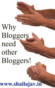 Bloggers need other bloggers, Community, Blogging