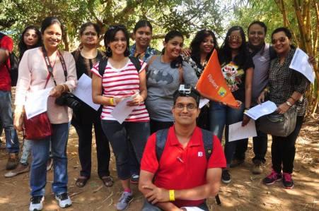 Team 1 (L to R); Indrani, Vidya, Ami, Shailaja, Deepa, Sreesha, Soumya, Sid, Mayuri. (Seated) Shrinidhi