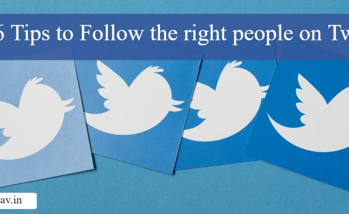 6 ways to choose who to follow on Twitter