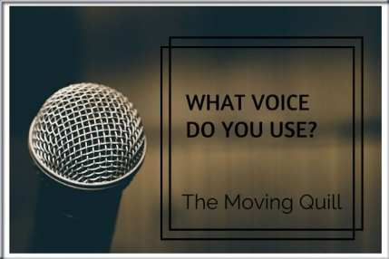 Voice used by writers