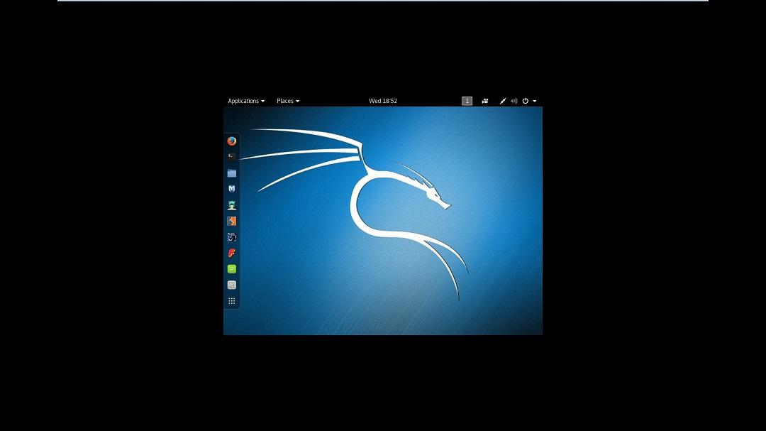 Kali Linux desktop VMware no full screen - Resolution 800x600