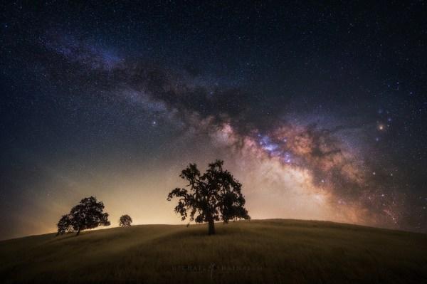 Milky Way Night Sky Photography