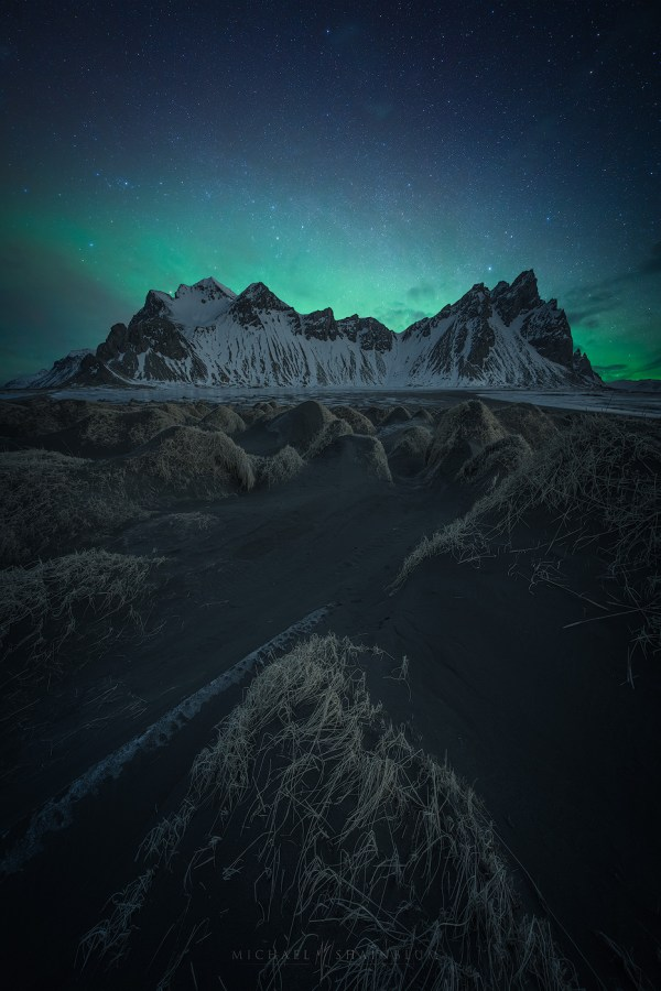 Iceland Aurora Aerial And Landscapes