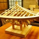 建築模型の世界『和様三手先』