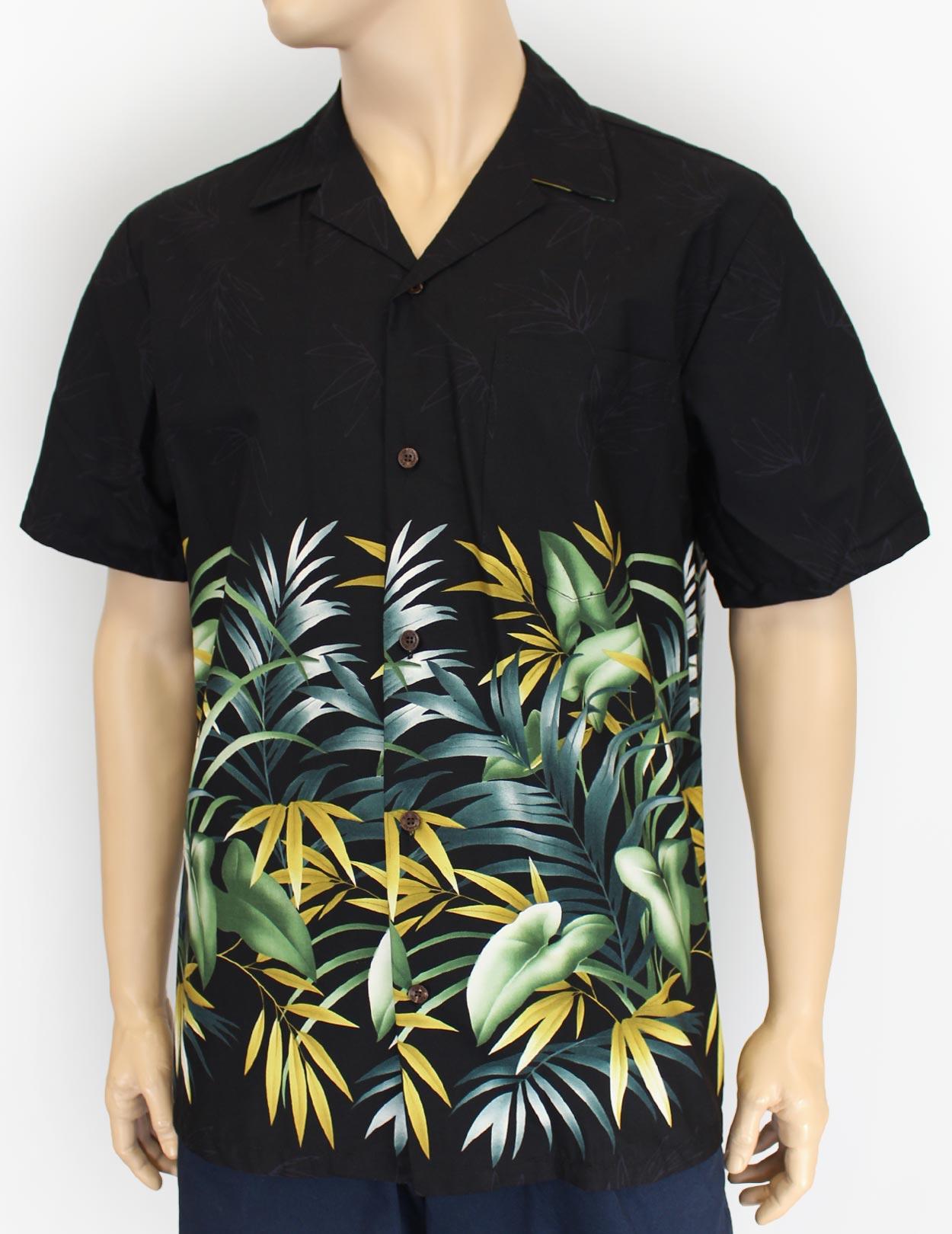 Hawaii Tropical Rainforest Aloha Shirt Shaka Time Hawaii