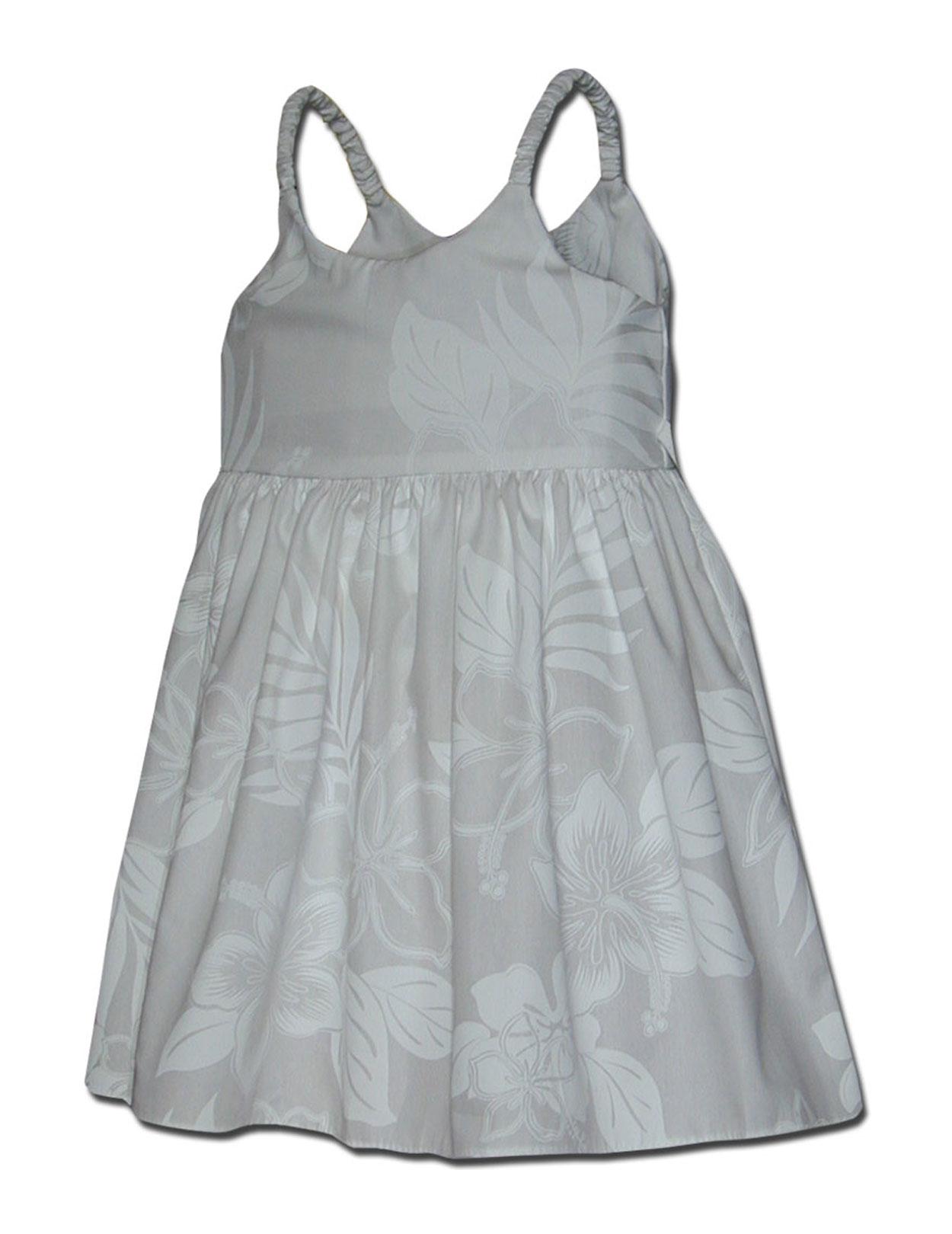 Bungee Little Girls Hawaiian Dress La Ele Shaka Time
