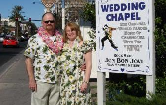 GRACELAND WEDDING CHAPEL IN LAS VEGAS