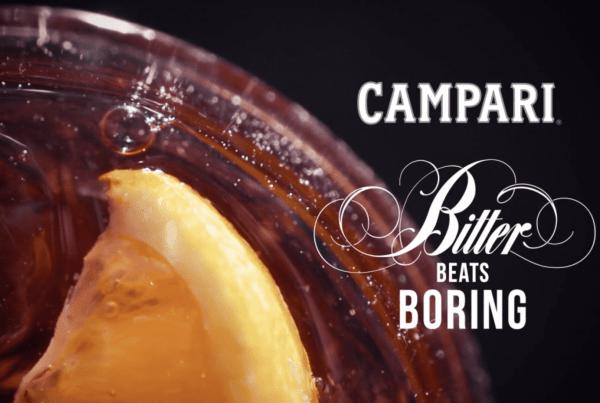 Campari Negroni - Slow Motion Drink - Micro Promo