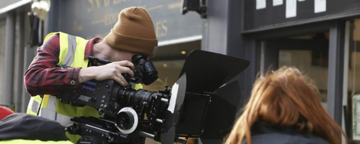 The Crew on a Shoot - Video Advertising Edinburgh