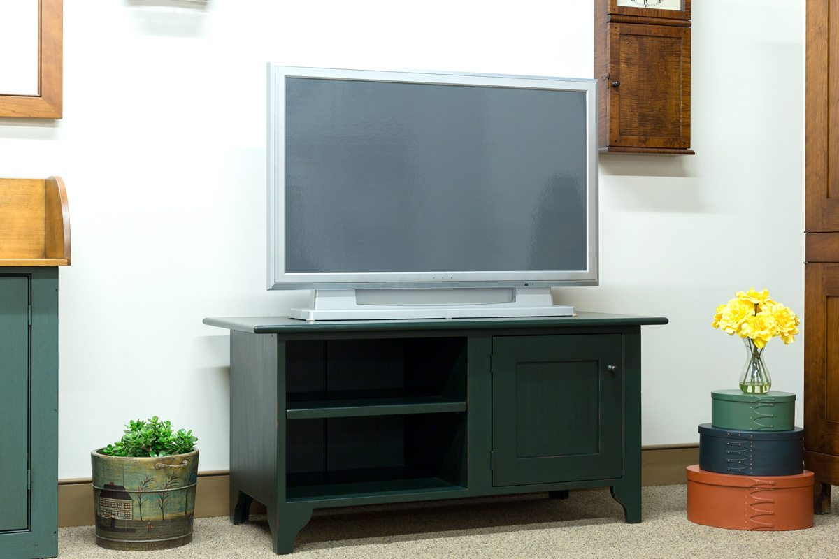 One Door Low Tv Stand Shaker Shoppe