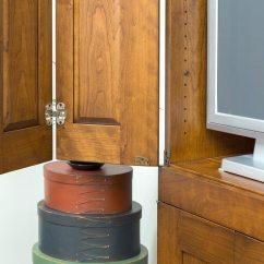 Bi Fold Kitchen Cabinet Doors Lowes Outdoor Island Four Door Tv Shaker Shoppe