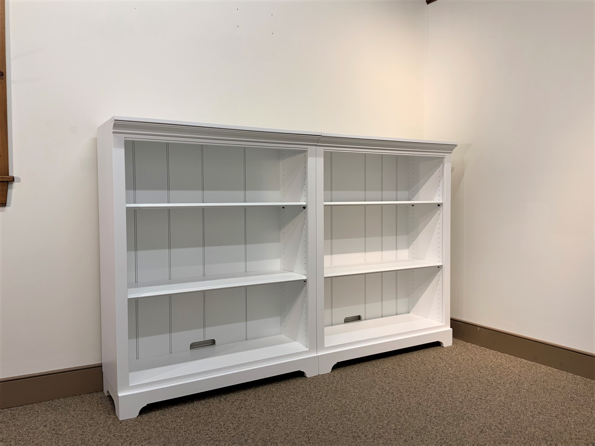 Shaker Home Entertainment Bookcase Sectional System