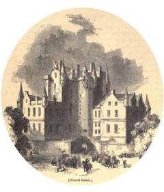 Macbeth's Castle. From Knight's biography of Shakespeare, 1865