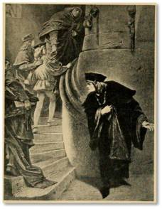 The Princes in the Tower. From Stories of Shakespeare's English History Plays by Helene Adeline Guerber. Illus. Carl Piloty