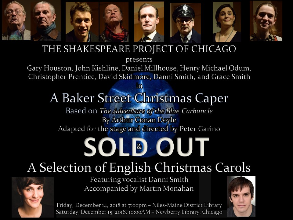 Sherlock at Xmas for Shakespeare Project
