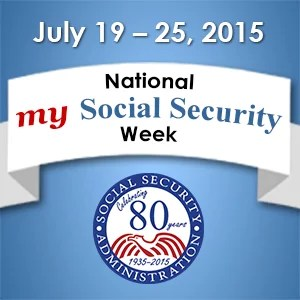 National My Social Security Week 2015 Graphic