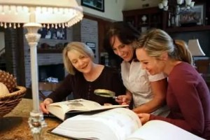 Women Reading Recipe Book