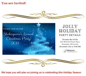 2019 Invite