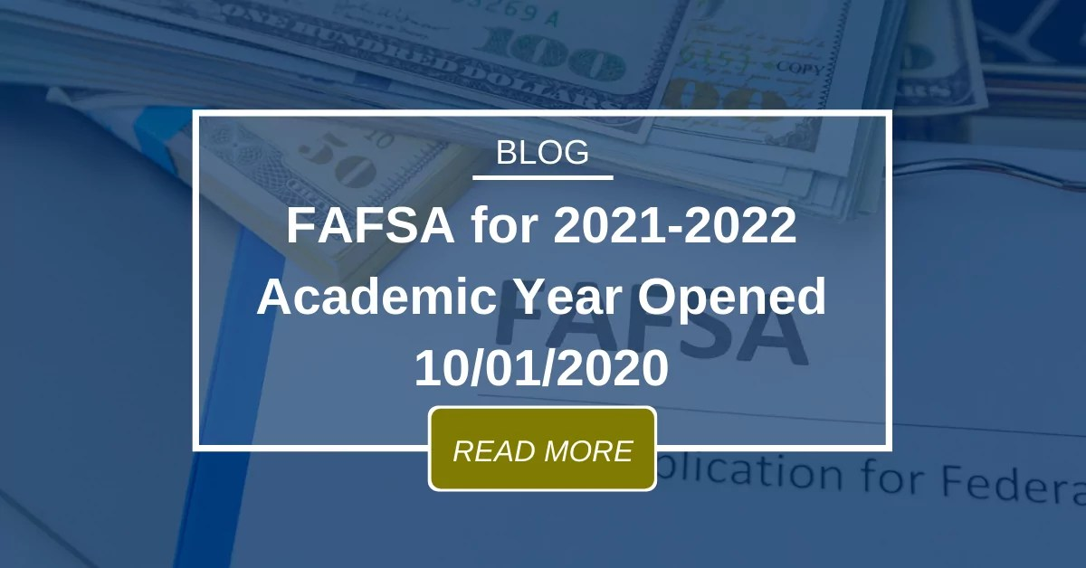 FAFSA for 2021-2022