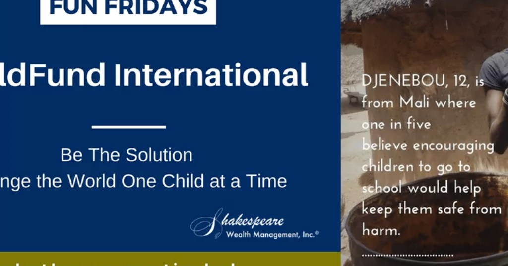Child Fund International 100 Fun Fridays