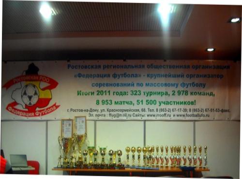 Областная федерация футбола провела отчетную конференцию