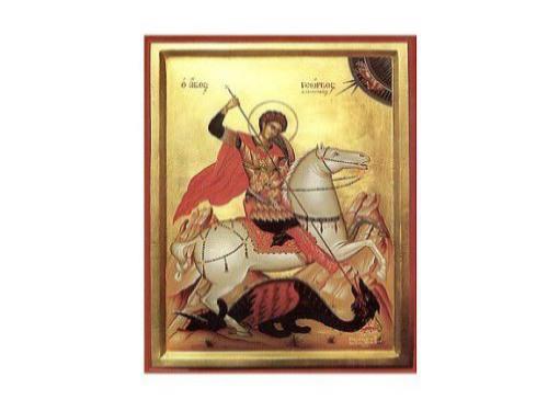 В Покровском кафедральном соборе пребывают мощи великомученика Георгия Победоносца