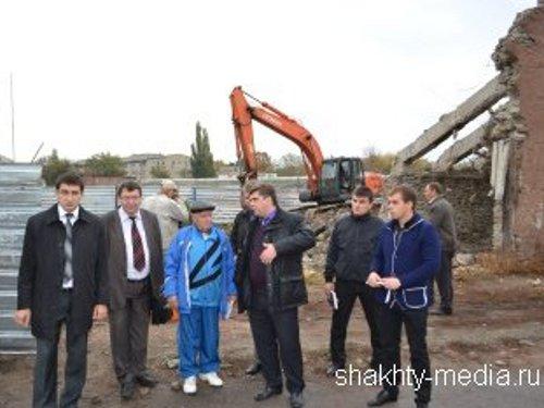 "Начата реконструкция стадиона ""Шахтер"""