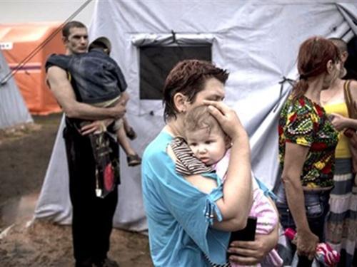 В Ростовской области упразднён один из четырёх полевых пунктов временного размещения беженцев