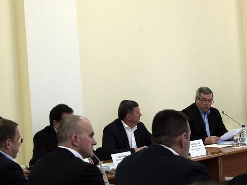 В Шахтах с рабочим визитом побывал губернатор Василий Голубев