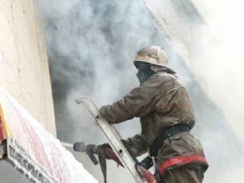 Пожар в пятиэтажке потушили за 11 минут