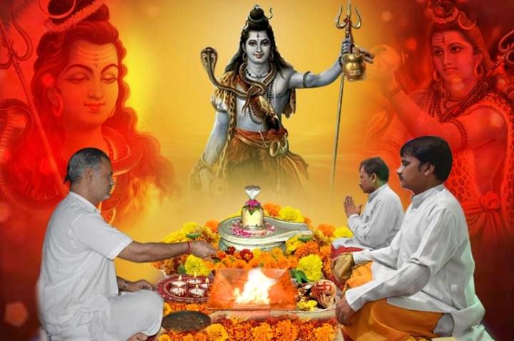 Shiva Rudri puja ni Chaurasi puja