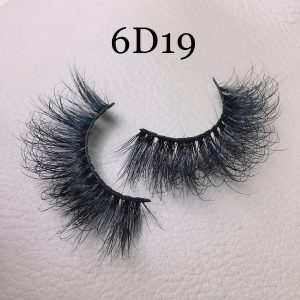 Fluffy 20mm mink lashes 6D19