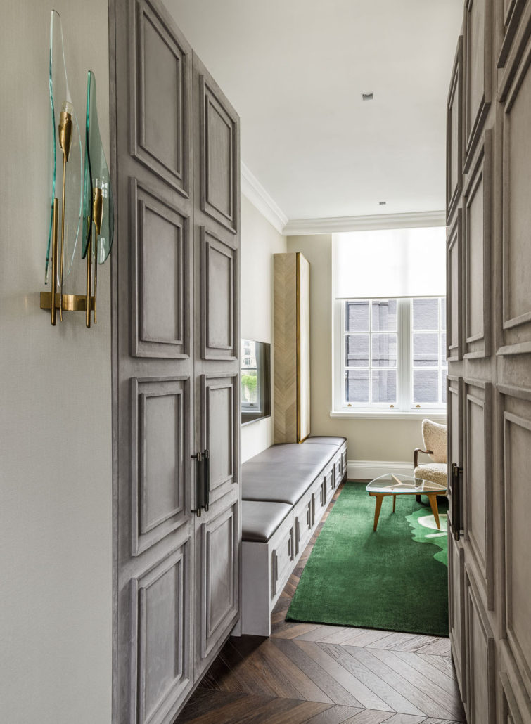 Mayfair Squat Apartment London Luxury Interior Design