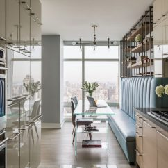 Interior Design Kitchen Small Commercial Bloomberg Apartment Ny | Luxury Shalini ...
