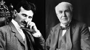 Nikola Tesla and Thomas Edison
