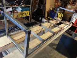 Bench Frame Attaching Legs