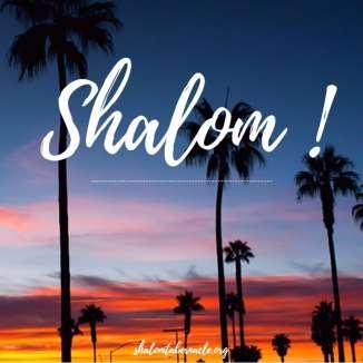 Shalom !...