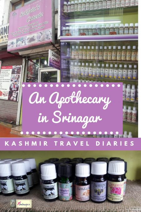 apothecary in srinagar kashmir travel diary oils and potions essential oils