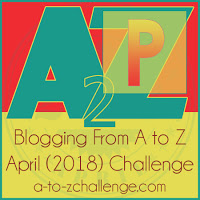 #atozchallenge-books-TBR-author-genre-fiction