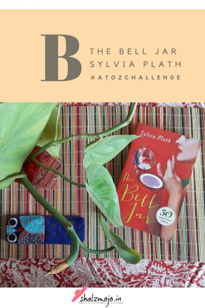 #atozchallenge-author-BellJar-blog-challenge-book-review-genre-Sylvia Plath