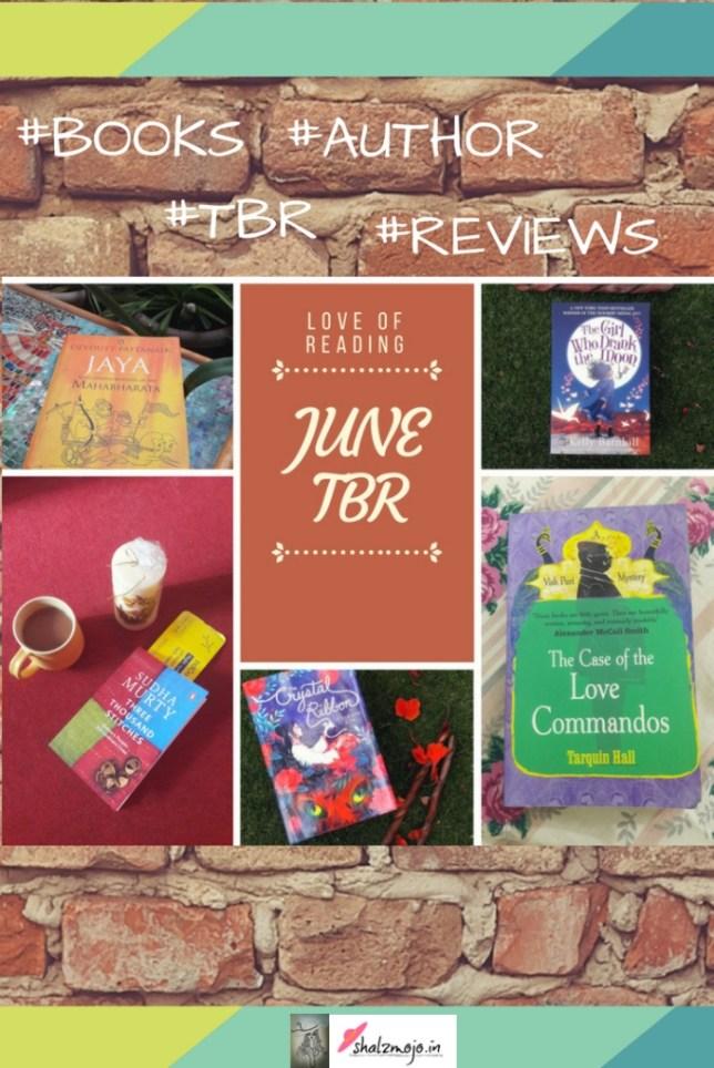 TBR JUNE BOOKS READING AUTHOR REVIEW GENRE FICTION