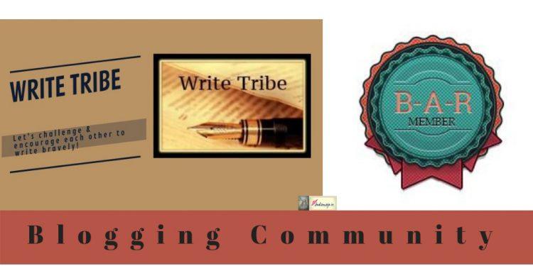 blogging community write tribe BAR blog