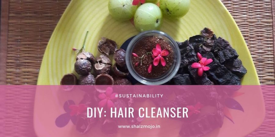 hair cleanser DIY recipe