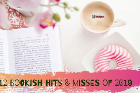 12 bookish hits and misses of 2019 - doughnut-candy-coffee-book-orchid