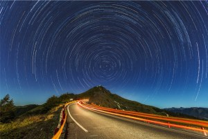Circling Stars with Road