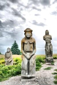Scythian Woman Statue