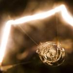 Closeup of Light bulb Electricity