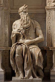 'Moses' By Michelangelo JBU160